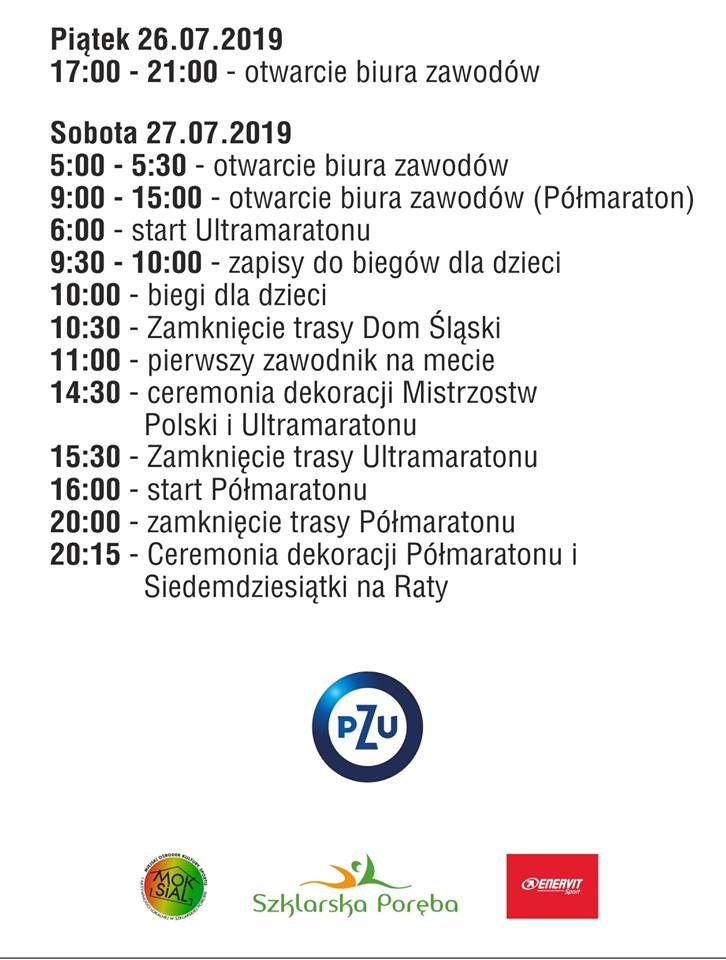 Program PZU Ultramaratonu Karkonoskiego